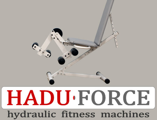 Fitness Machine HADU-FORCE Lying knee extension